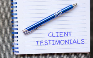 Testimonials TriEnna Marketing