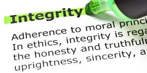 Marketing code of ethics