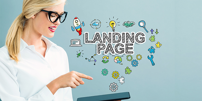 Landing Pages in web design